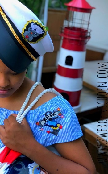 ♥MATROSENschön♥ Stickmuster SAILOR Girl MATROSEN 10x10 13x18cm