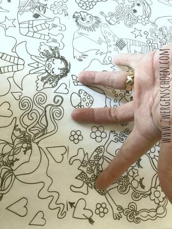 ♥PAPER♥ 35cm NEVERLAND gift wrapping ZWERGENSCHoeN
