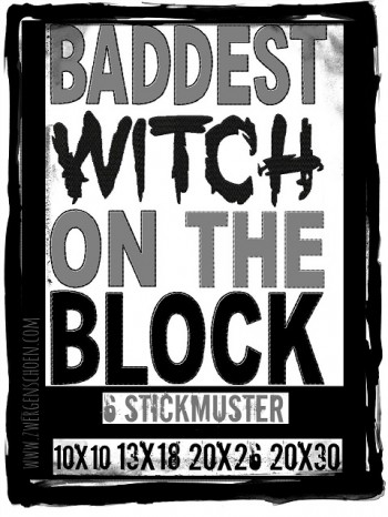 ♥BADDEST WITH ON THE BLOCK♥ Stickmuster 1€-SPARbie