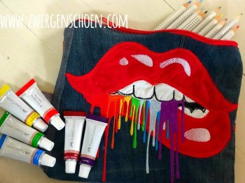 ♥SPLaeSH Lips♥ Embroidery FILE incl. ZIP-Motif 10x10 13x18 20x26cm