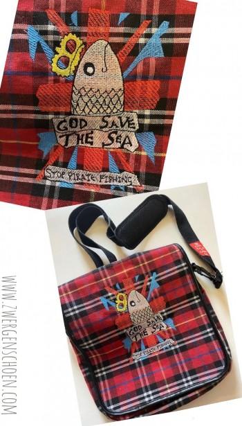 ♥GOD save the SEA♥ Embroidery 13x18cm