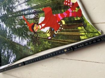 ♥MILLI im FRANKENWALD♥ Stoffpanel JERSEY Pilze 50x70cm