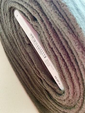 ♥BAUMWOLL-Fleece♥ 0.5m COTTON FLEECE khaki