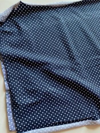 ♥PÜNKTCHEN♥ 0.3m JERSEY little dots MARINE
