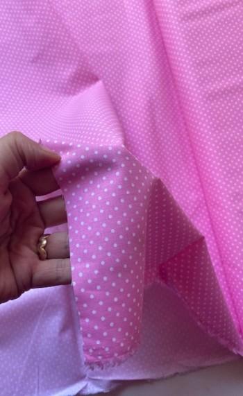 ♥PÜNKTCHEN♥ 0.5m WEBWARE Baumwolle PINK/ROSA small Dots