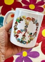 ♥PEACE LOVE EIERKUCHEN♥ Mug 0.3L ZWERGENSCHoeN