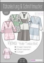 ♥Boho-Kleid Nelina Damen♥ PAPIER-SCHNITTMUSTER Din A0 WOMAN 32-48