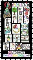 ♥GYPSYschoen♥ Embroidery File-Set BOHO Faria 10x10 13x18 18x30 20x26 20x30cm