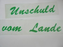 ♥UNSCHULD vom LANDE♥ GERMAN iron it GREEN