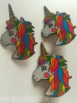 ♥UNICORN BUTTON♥ original ZWERGENSCHOEN