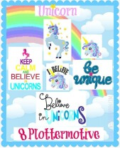 ♥UNICORN♥ PLOTTFILE Plott SVG, DFX, JPG