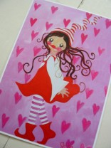 ♥MISSI ZWERGENSCHoeN♥ POSTCARD Set of 3