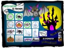 ♥FRITZI FLATTER&Friends♥ STICKMUSTER-SET