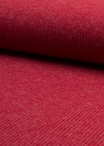 ♥RIPP-Bündchen♥ 0.25m JERSEY Rib ROT red