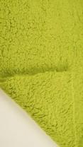 ♥TEDDY♥ 0.5m KUSCHELFELL lime GRÜN 100% Kunstfaser