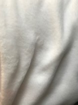 ♥FLEECE♥ 0.5m LAMBSKIN optical WHITE weiss