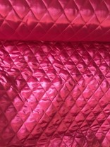 ♥QUILTED Satin♥ 0.5m PINK
