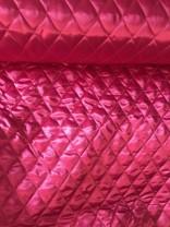 ♥RAUTEN-STEPPER♥ 0.5m PINK wattiert SATIN