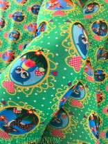 ♥REHLEIN&Friends♥ 0.5m JERSEY Digiprint GREEN Dots