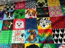 ♥WUFFz on PaeTSCH♥ 0.5m WOVEN COTTON Patchwork DOGS
