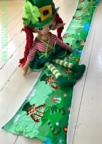 ♥KERRY@HOME♥ 30cm RAPPORTstreifen LANDSCHAFT Leprechaun IRLAND