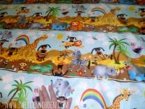 ♥AFRICA LANDSCAPE♥ 0.5m NYLON fabric 140cm WIDTH