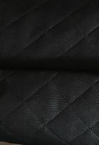 ♥STEPPER♥ 0.5m MOSKAU Taschenstoff SCHWARZ