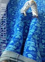 ♥SCHNITTCHEN of LONDON♥ 0.5m BIO Jersey ÖKO skyBLUE LETZTE METER!!!!!!!!!