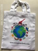♥little COTTON Bag♥ ZWERGENSCHoeN 22x26cm