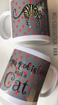♥KITTY♥ Mug 0.3L LOVE Cat