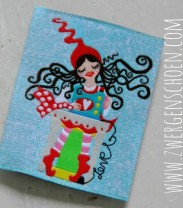 ♥MILLI in LOVE with SEWING♥ WOVEN LABEL 5x5cm