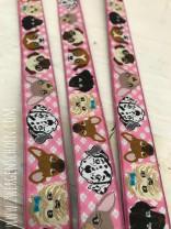♥WUFFz♥ Ribbon DOGS Vichy PINK