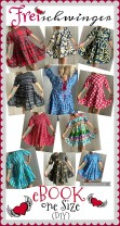 ♥FREIschwinger♥ eBOOK Stufen TUNIKA-Kleid ONE-SIZE 1€-SPARbie