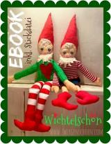 ♥WICHTELschön♥ eBOOK Zwerg inkl. PLOTT+STICKdatei