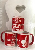 ♥SUPPORT small BUSINESS♥ Tasse Mug 0.3l KERAMIK