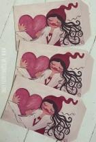 ♥MILLI in LOVE♥ Geschenktüten 17x25cm ZWERGENSCHÖN 3Stück