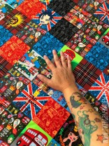 ♥PÄTSCH of LONDON♥ 0.52m JERSEY Patchwork EIGENDESIGN