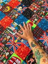 ♥PÄTSCH of LONDON♥ 0.52m JERSEY Patchwork EIGENDESIGN