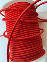 ♥elastic CORD♥ ROUND red 5mm