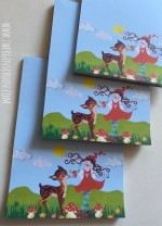 ♥MILLI in LOVE with BAMBI♥ Notepad FAIRY TALE A5 Zwergenschoen