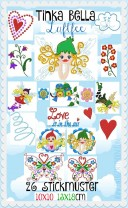♥TINKA BELLA the AIRfairy♥ Embroidery-FILE-Set 10x10 13x18cm FAIRIES, BUTTERFLIES, ELVES