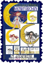 ♥MONDMÄDCHEN♥ Stickmuster MOON CHILD 10x10 13x18 20x20 20x26cm