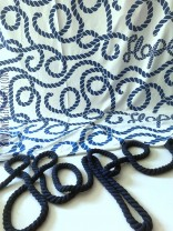 ♥SEILmichSCHÖN♥ 0.5m FRENCH TERRY Ropes XL HOPE Sweatshirt