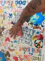 ♥WUFFz on GRAFFITISCHÖN♥ 0.49m NYLON Hunde LIGHT
