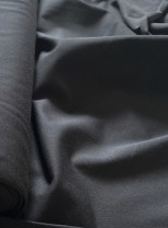♥UNI-JERSEY♥ 0.5m BLACK pur SPANDEX SINGLEKNIT 94/6
