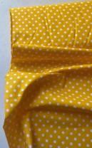 ♥POLKA DOTS♥ 0.5m Baumwolle GELB Punkte