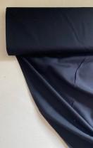 ♥COTTON UNI♥ 0.5m BAUMWOLLE Webware SCHWARZ