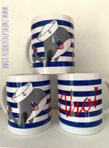 ♥MATROSEN WILLY♥ Tasse MUG Keramik WAL 0.3L