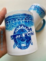 ♥ANARCHY in the UK♥ Tasse MUG Keramik BLUE 0.3L