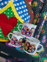 ♥RUSSIAN DOLL♥ Mug ENAMEL
